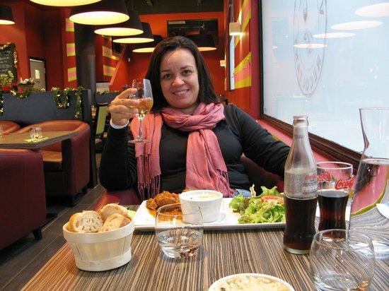 Almoçando no Vinomania