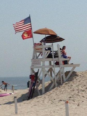 Jones Beach State Park: Jones Beach , On the watch tower !