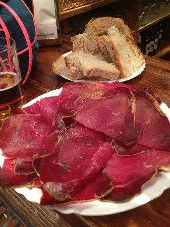 Bar jamon Jamon: Tabla de Cecina -8€