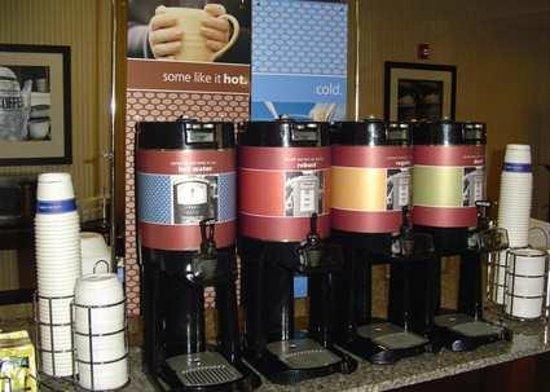 Hampton Inn Cleveland: Coffee