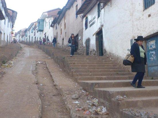 LOKI Cusco : Acesso ao hostel