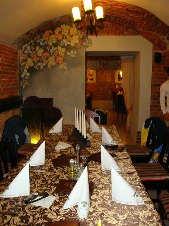Restauracja Sasiedzi: Una delle sale
