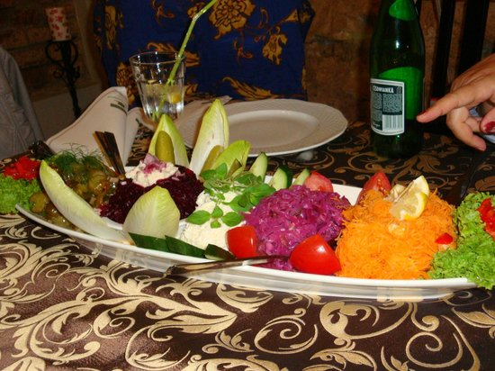Restauracja Sasiedzi: Misto di ortaggi