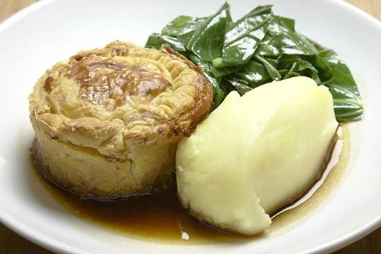 Canteen - Canary Wharf: Try our world famous pies with daily special fillings, freshly baked in our kitchen