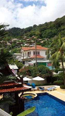 Villa Atchara: The fantastic view from the 2nd floor balcony