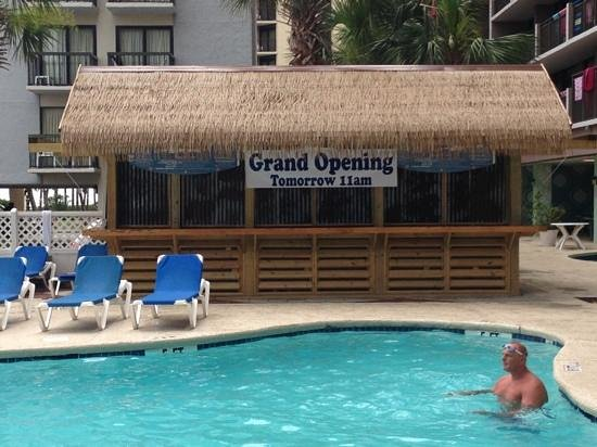Long Bay Resort Newest Addition Tiki Bar