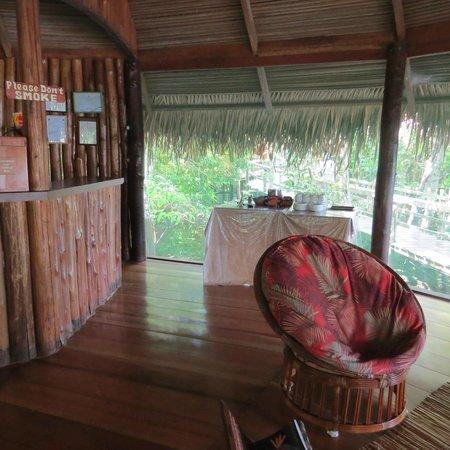 Juma Amazon Lodge: Bar e recepção