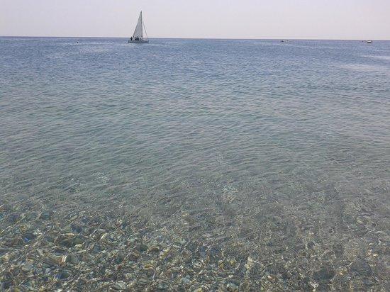 Kolymbia Beach Hotel: Mare vista spiaggia