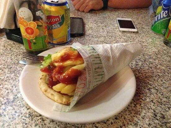 Tasty Corner: gyros pita