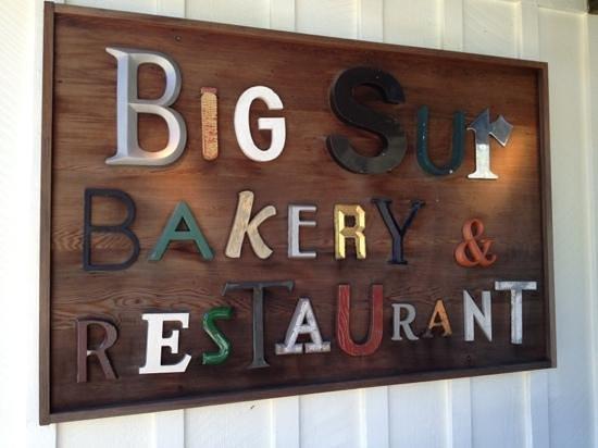 Big Sur Bakery & Restaurant: entrance