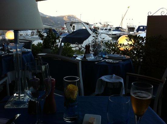 Le Pacha du Sloop - Chez Fifi : Abendstimmung Terrasse Le Sloop