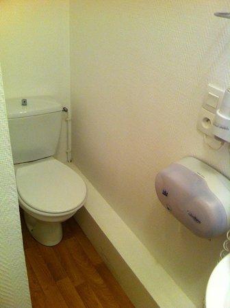 Inter-Hotel Majestic : les toilettes dans la salle de bains