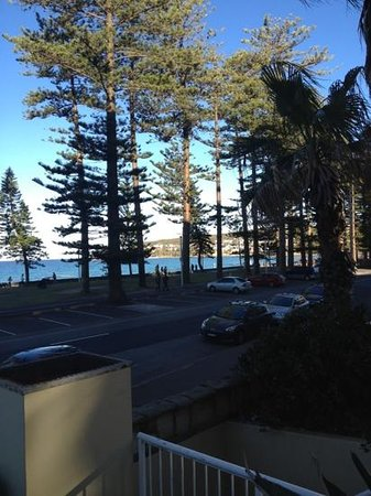 Manly Shores Holiday Apartments: amazing view!