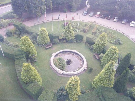 Yorkshire Wheel: Gardens adjacent to wheel