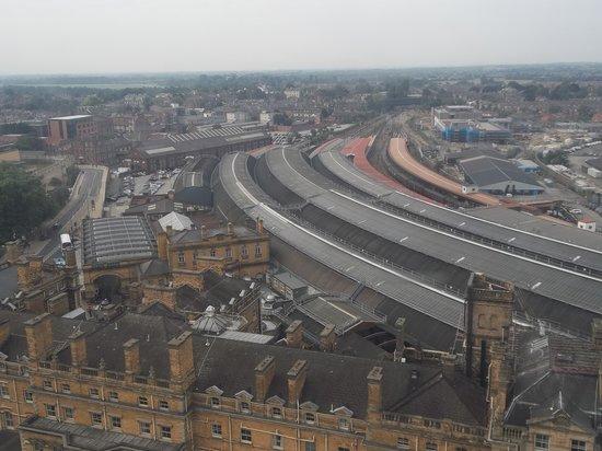 Yorkshire Wheel: York railway station