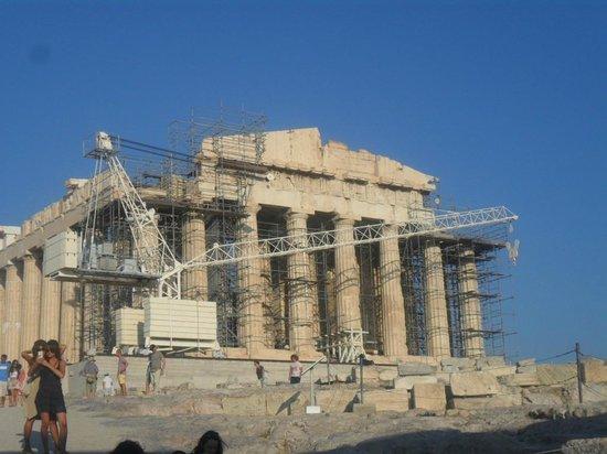 Greece Taxi: The Acropolis