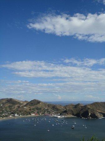San Juan del Sur Beach: VISTA DESDE EL CERRO