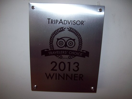 Hotel Casa Paulina: TripAdvisor Presente