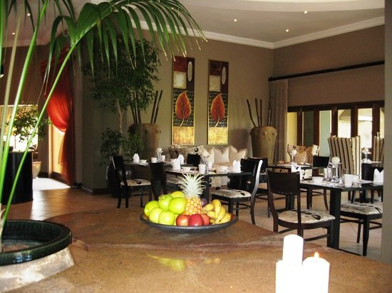 Witwater Guest House and Spa : Breakfast Area