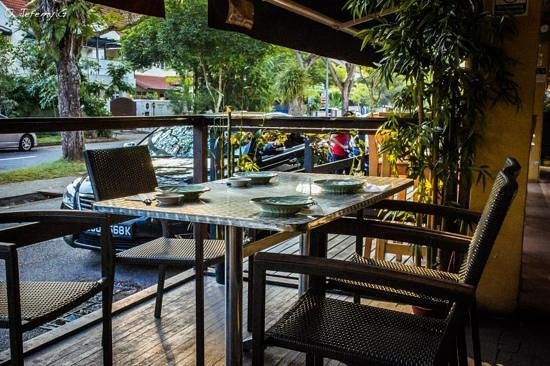 Shin Yuu Anese Restaurant Outdoor Dining Area