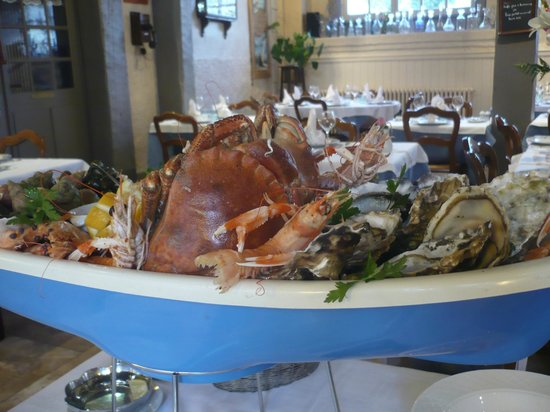 Le Galion Plateau de fruits de mer Royal