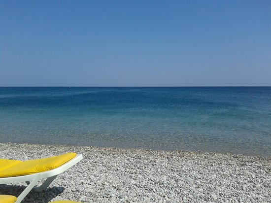 Kolymbia Beach Hotel: Mare...