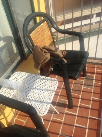 Arcadio & Arcadia: Someone from the 5th floor dropped their pants on our balcony