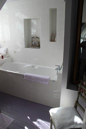 Chateau de Kerlarec : bathroom
