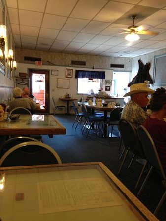 Sheridan Palace Restaurant: usual Wyoming atmosphere