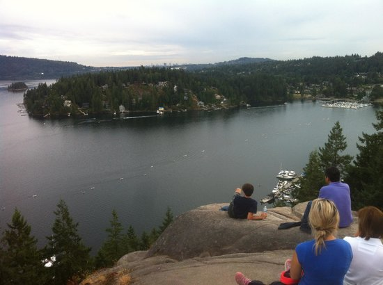 North Vancouver, Canada: View from the rock