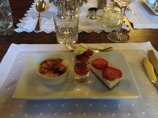 The School House Bed and Breakfast: Tris di dolci