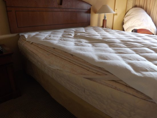 Hyatt Regency Rochester: Blown out mattress