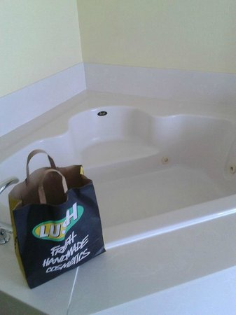 Holiday Inn Hotel & Suites Daytona Beach: Love the Jacuzzi tub!