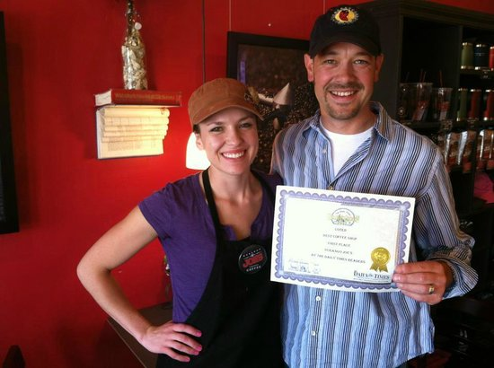 Durango Joe's Coffee on 20th Street: Won BEST COFFEE SHOP!!