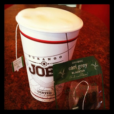 Durango Joe's Coffee on 20th Street: The London Fog is amazing!
