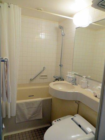 Oriental Hotel Hiroshima : bagno