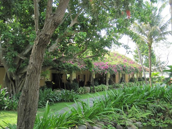 Anantara Hoi An Resort: Lush gardens, well maintained.