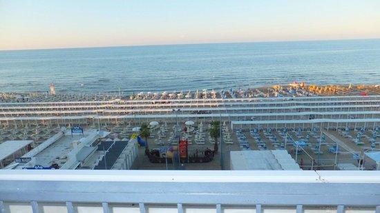 Club Hotel Riccione: vista dalla stanza
