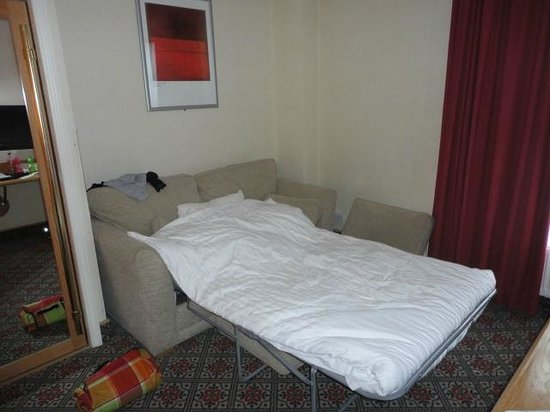 Best Western Grosvenor Hotel: double sofabed