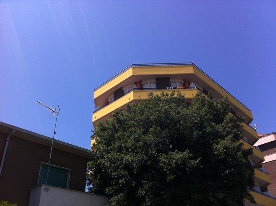 Hotel Turistica: il balcone della nostra camera