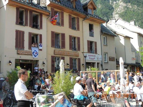 Le Bourg-d'Oisans, Frankrike: hôtel des alpes
