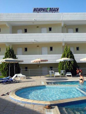 Memphis Beach Hotel: camere