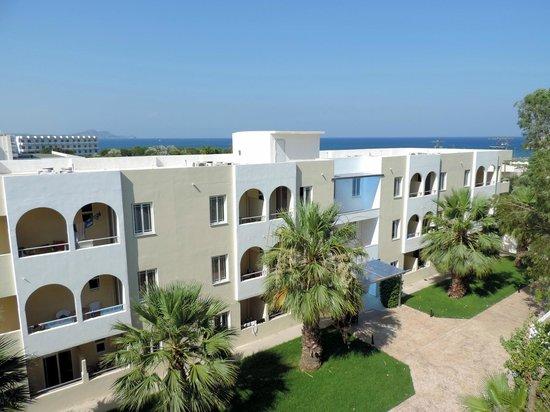Memphis Beach Hotel: viata da una superior