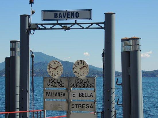 Locanda Nelia: L'embarquadère
