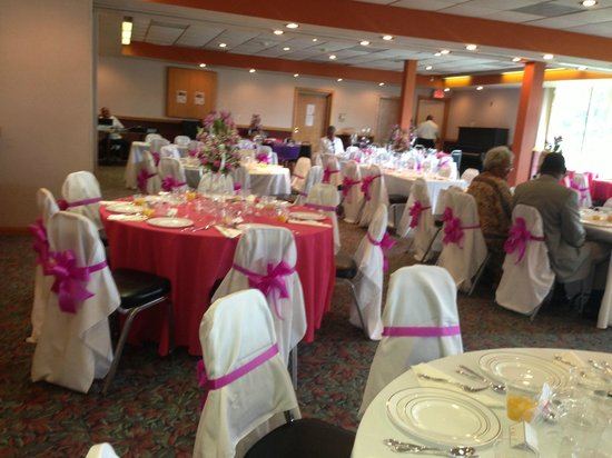 Quality Inn : Banquet hall