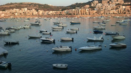 Porto Azzurro: XemXija Bay, early evening