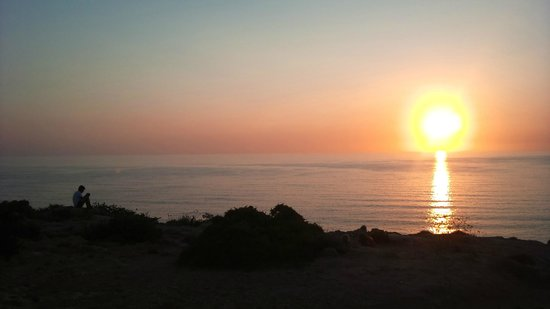 Porto Azzurro: Golden Bay - 10 minute drive from the hotel to watch the sunset