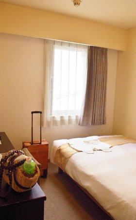 Nest Hotel Kumamoto: カップル仕様なのでダブルでお休み