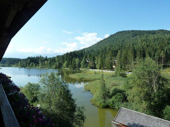 Hotel Seespitz-Zeit: View from room