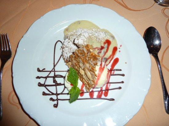 Hotel Seespitz-Zeit: Dessert